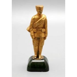 Бронзовая статуэтка «Рядовой пехоты времен правления Александра III», Россия, кон. 19 в.