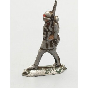 Довоенный оловянный солдатик «Пехотинец», ИЗО ЦПКиО, 1930-40 гг.