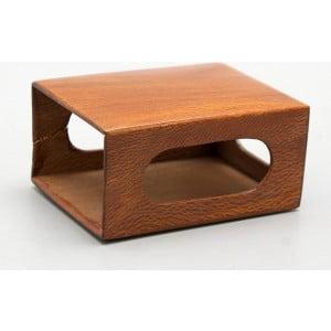 Спичечница, декоративный корпус для коробка спичек, дерево, лак