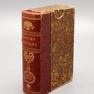 Старинный футляр для коллекции открыток общества Святой Евгении.