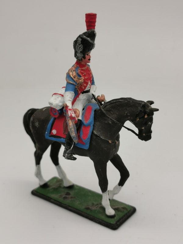 "Фигурка конная ""Трубач. Франция 1812""."