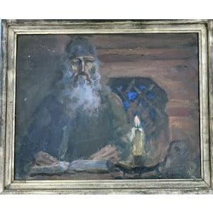 """Панфилов Е.М. Картина""""Летописец""""."""