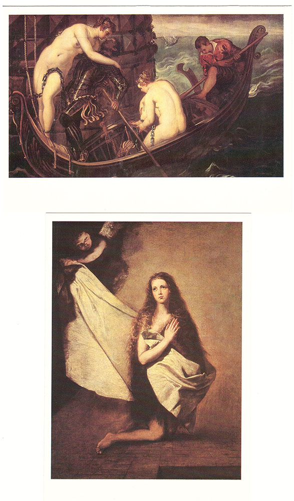 Набор открыток. Спасенные шедевры из 5 наборов.