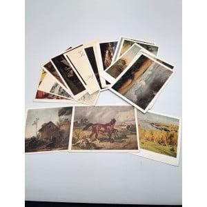 Открытое письмо ИЗОГИЗ. 18 открыток. Чистые.